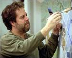 John Pugh is at it again - take a look at his Trompe L'oeil art